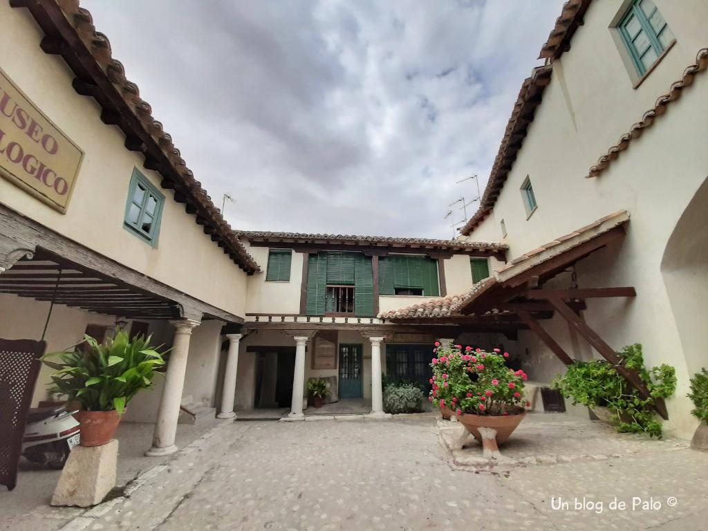 Patio del museo en Chinchón