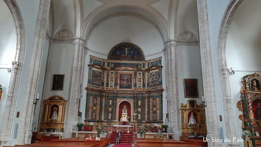 Interior de la Iglesia de Nuestra Señora de la Asunción