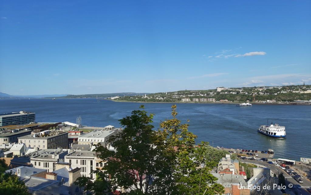 Vistas de Montreal desde el Monte Duffarin