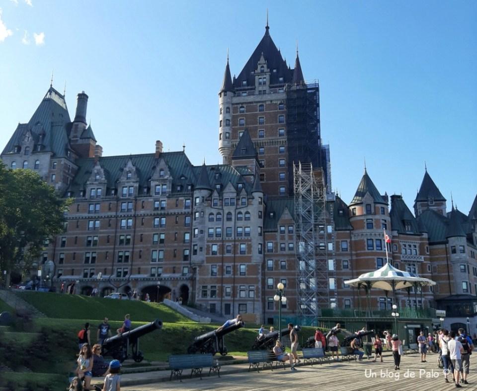 Castillo de Frontenac en Quebec