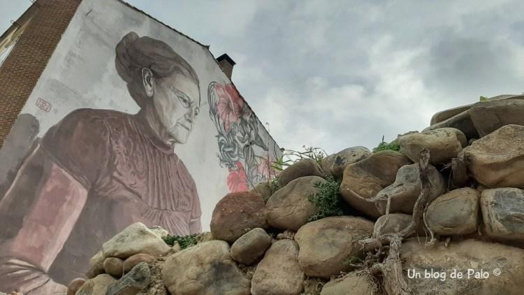 Mural dedicado a la mujer