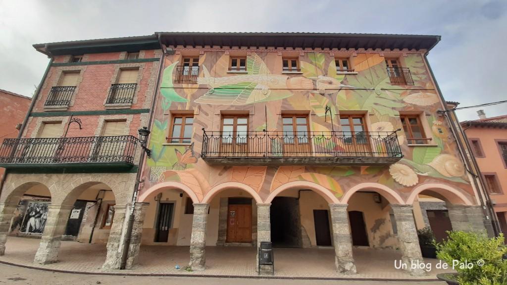 Visitar Belorado: arte en murales, minas y radiocomunicaciones