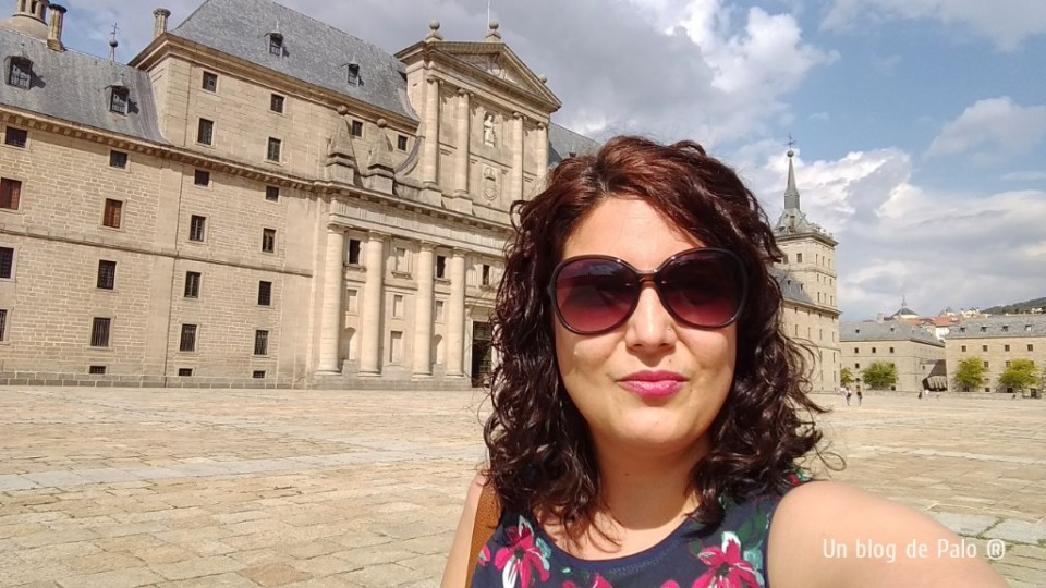 Paloma en San Lorenzo del Escorial