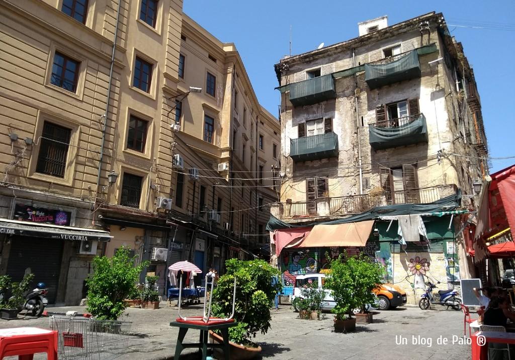 Visitar Palermo Piazza Caracciolo o lo que es lo mismo La Vucciria
