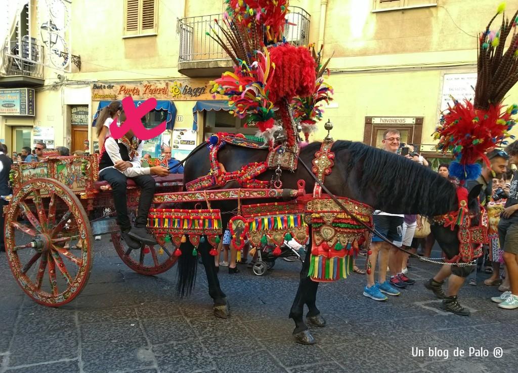 Típico carro siciliano