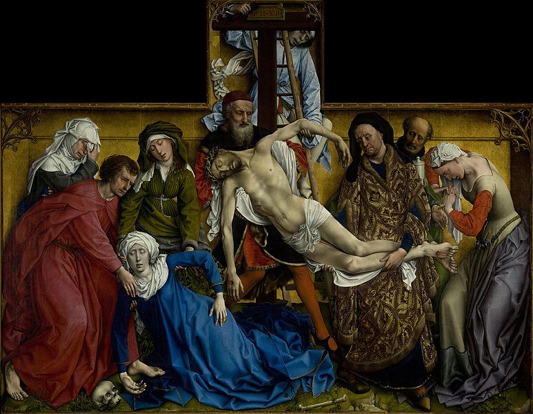 El Descendimiento (Roger Van der Weyden, 1443)