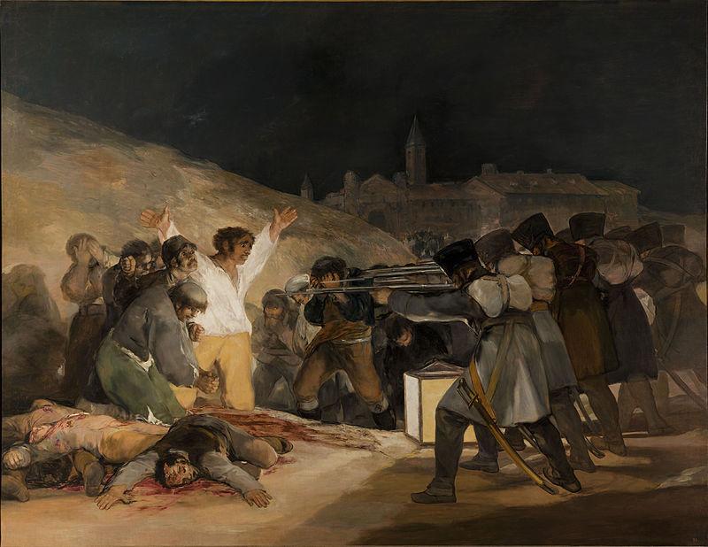 Fusilamientos de Goya