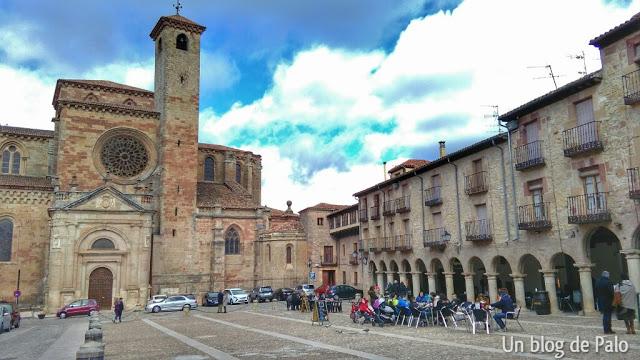 Vistas de la Plaza Mayor de Sigüenza