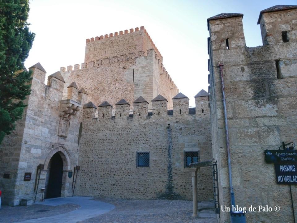 Acceso al Castillo de Ciudad Rodrigo