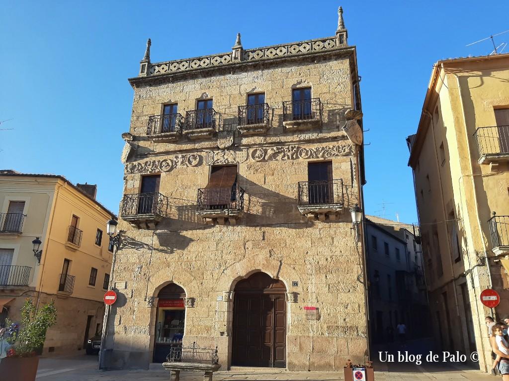 Uno de mis edificios preferidos en Ciudad Rodrigo