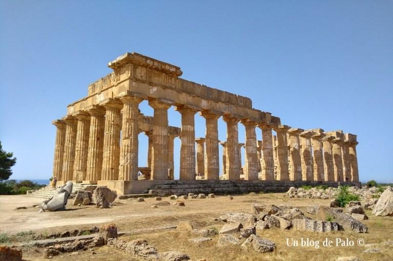 Templo de Hera en Selinunte