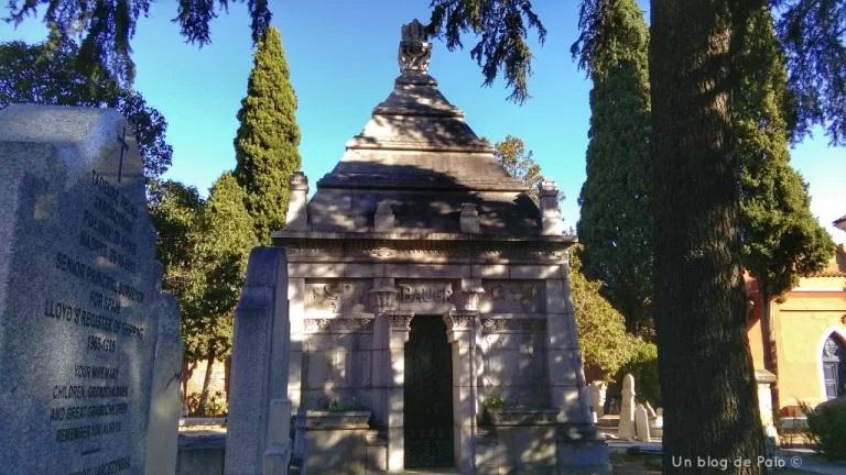Cementerio inglés en Madrid