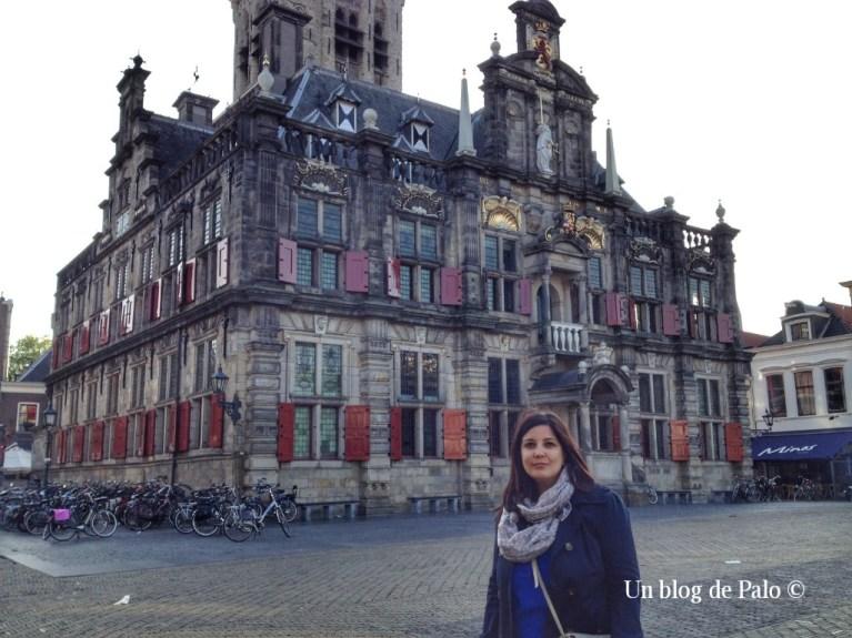 Paloma en Delft