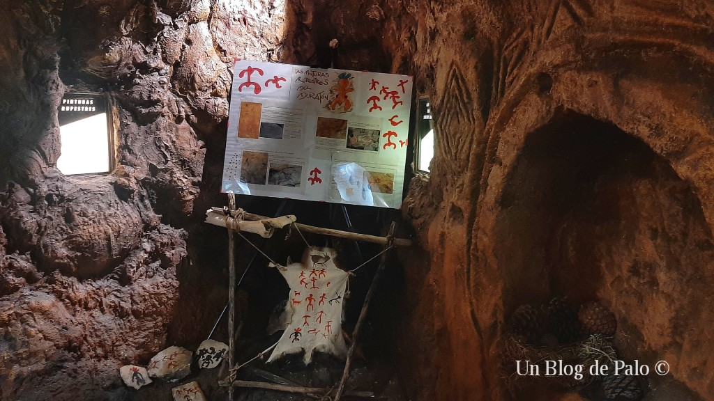 Reproducción de la Cueva de los Siete Altares