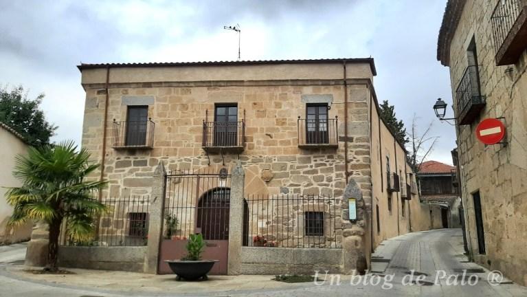 Casas señoriales en Ledesma