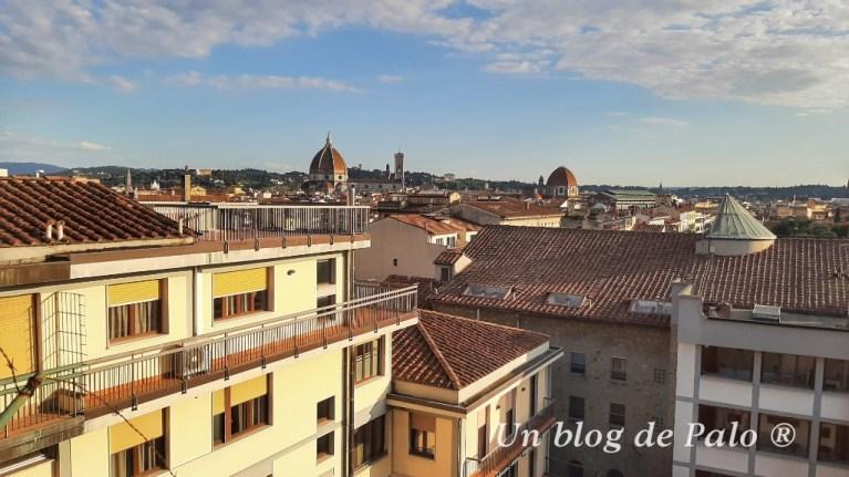 Vistas desde el Hotel de Florencia