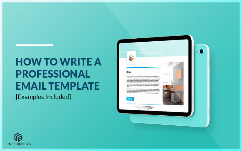 Free and premium plans sales crm software. How To Write A Professional Email Template With Examples