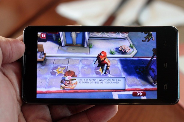 Gameloft's Zombie game. We alternate this with Dead Trigger for our zombie killing urges
