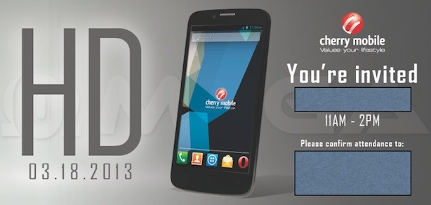Cherry Mobile Omega HD! Wonder what the specs will be?