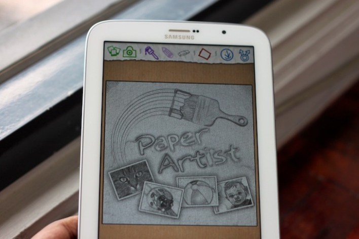 Built-in S Pen Apps like Paper Artist