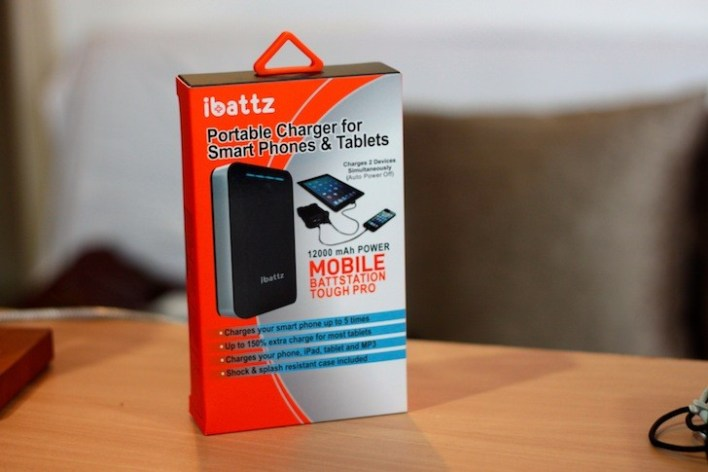 Orange: Easy to spot in a shelf of gadgets in blister packs or white boxes.