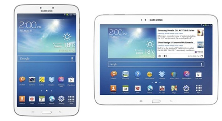 Samsung's newest tablets