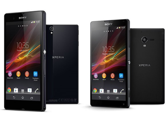 Xperia Z and ZL. The one on our list though is the ZL, hehe.