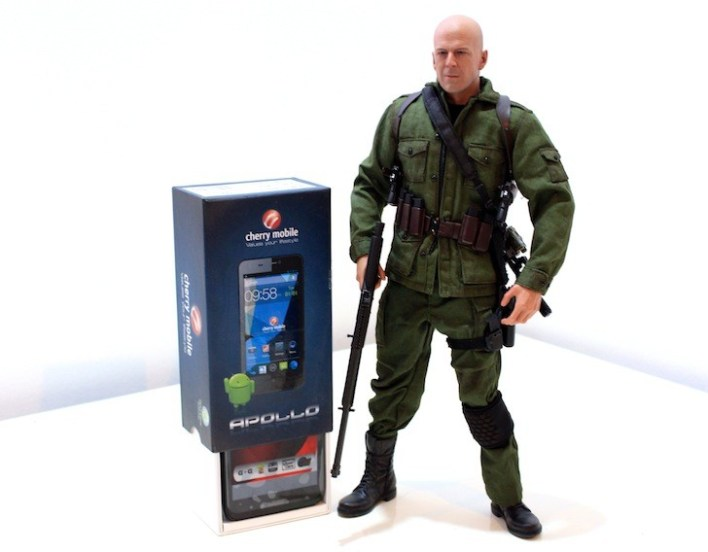 Let's give it up for the original G.I. Joe, Joe Colton! (Yep, Bruce Willis)