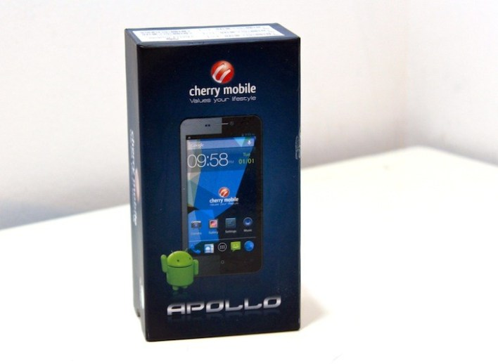 Time to unbox the Cherry Mobile Apollo!