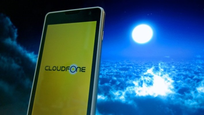 The Cloudfone Thrill 400qx up close!