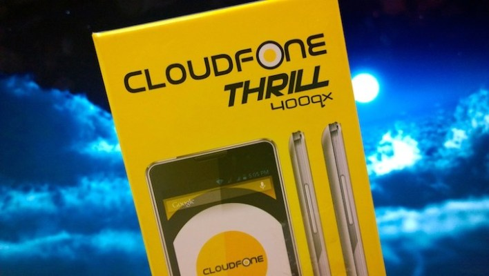 Unboxing the Cloudfone Thrill 400qx!