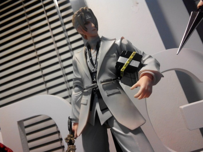 Rufus Shinra from Final Fantasy VII Advent Children.
