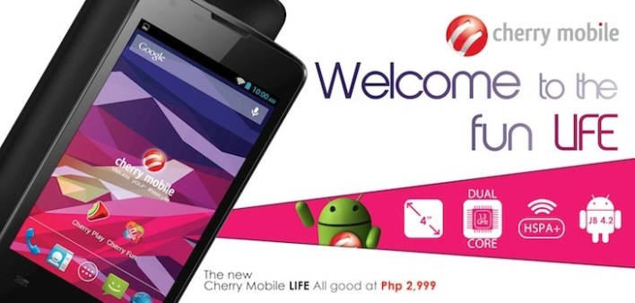 Cherry Mobile Life Announced