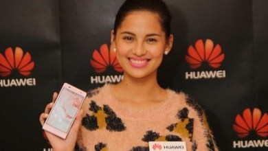 Photo of Huawei Ascend P6 Now Comes in Pink Endorsed by Jasmine Curtis-Smith