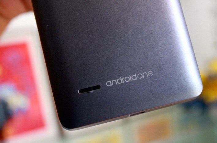 Android One logo at the bottom