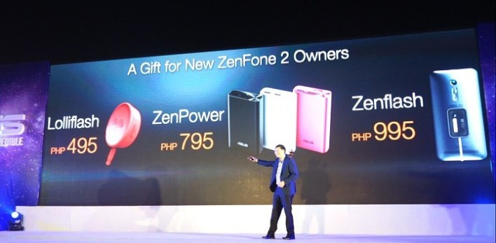 Zenfone 2 Freebies