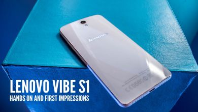 Photo of Watch: Lenovo Vibe S1 Hands-on, First Impressions