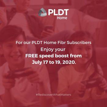 PLDT Home Weekend Surprise