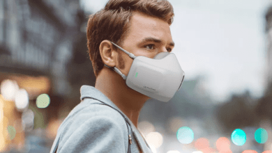Photo of LG Made A Facemask With A Built-in Air Purifier