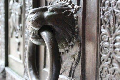 porte de l'église de Ravello
