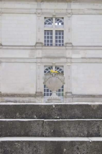 Entrée du château de Villandry