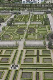 Dernier regard sur les jardins de Villandry
