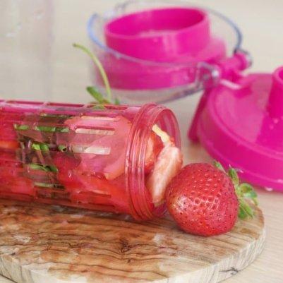 ingrédients pour eaux infusées