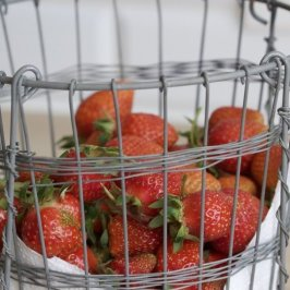 fraises du jardin pour le mojito aux fraises