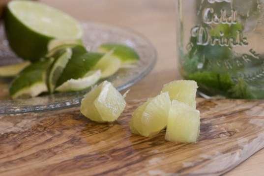 suprême de citron vert
