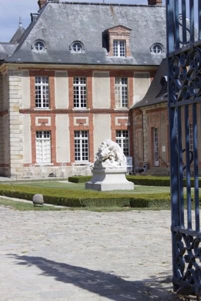 Entrée du château de Breteuil
