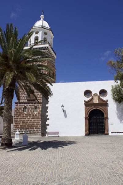 Place centrale de Teguise à Lanzarote
