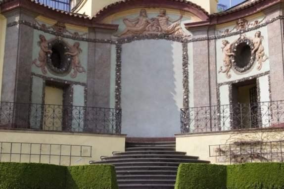 Gloriette du jardin Vrtba à Prague
