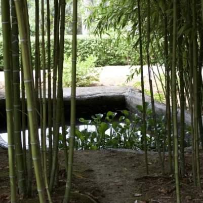 bassins des jardins d'Alfàbia à Majorque