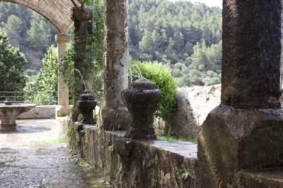 Pergola des jardins d'Alfàbia à Majorque